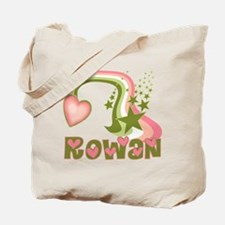 Rainbows & Stars Rowan Personalized Tote Bag