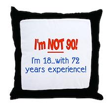 Unique 90 Throw Pillow