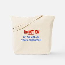 Cute 100 birthday Tote Bag