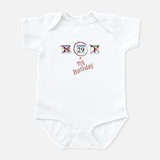 Leap Year Calendar Infant Bodysuit