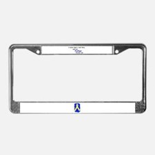 FATHER HERO License Plate Frame