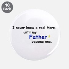 """FATHER HERO 3.5"""" Button (10 pack)"""
