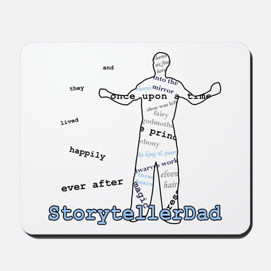 Storyteller Dad Father's Day Mousepad