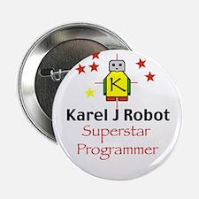 "Superstar Karel Programmer 2.25"" Button (10 pack)"