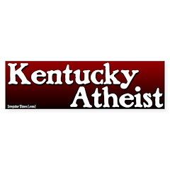 Kentucky Atheist Bumper Bumper Sticker