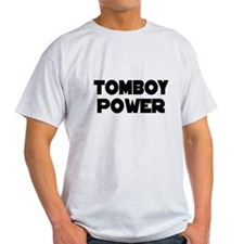TOMBOY Gear Ash Grey T-Shirt
