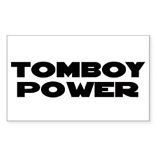 TOMBOY Gear Rectangle Decal