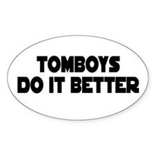 TOMBOY Gear Oval Decal