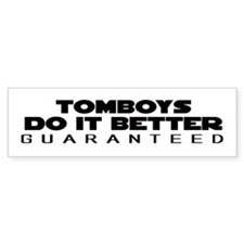 TOMBOY Gear Bumper Bumper Sticker