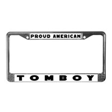 TOMBOY Gear License Plate Frame