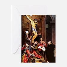 001-CRUCIFIXION Greeting Card
