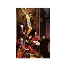 001-CRUCIFIXION Rectangle Magnet (10 pack)