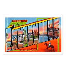 Louisville Kentucky Greetings Postcards (Package o