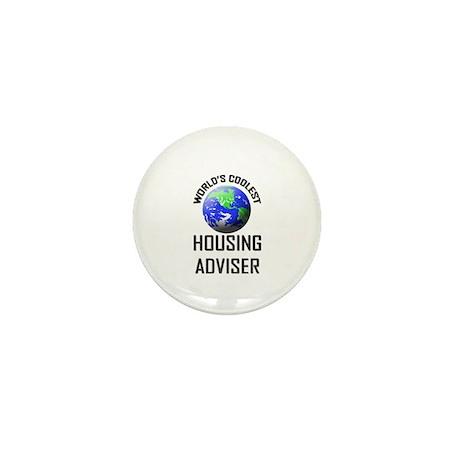 World's Coolest HOUSING ADVISER Mini Button (10 pa