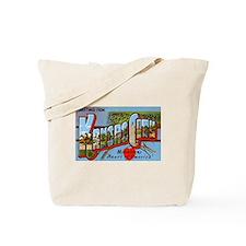 Kansas City Missouri Greetings Tote Bag