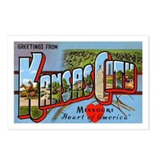 Kansas City Missouri Greetings Postcards (Package