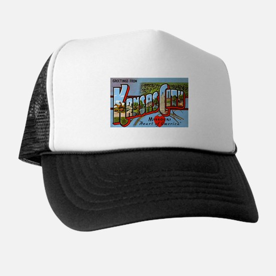 Kansas City Missouri Greetings Trucker Hat