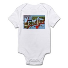 Kansas City Missouri Greetings Infant Bodysuit