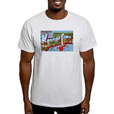 Kansas City Missouri Greetings (Front) T-Shirt
