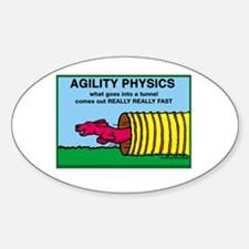 Agility Physics Oval Decal