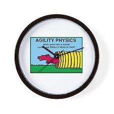 Agility Physics Wall Clock