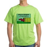 Ibizan hound dog agility Green T-Shirt
