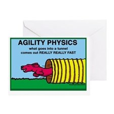 Agility Physics Greeting Card