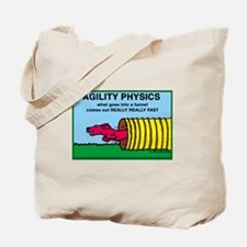 Agility Physics Tote Bag