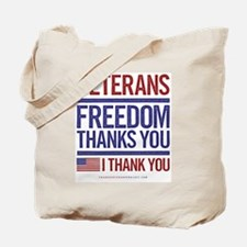 Unique Military thank you Tote Bag