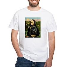 Mona Lisa & Her Bouvier Shirt