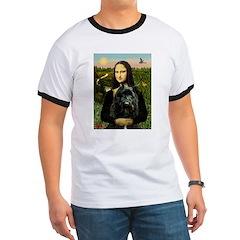 Mona Lisa & Her Bouvier T