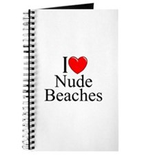 """I Love (Heart) Nude Beaches"" Journal"