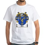Wall Family Crest White T-Shirt