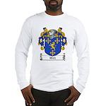 Wall Family Crest Long Sleeve T-Shirt