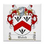 Walsh Family Crest Tile Coaster