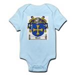 Ward Family Crest Infant Creeper