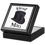 Top Hat Best Man Keepsake Box