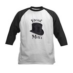 Top Hat Best Man Kids Baseball Jersey