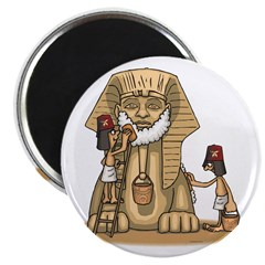 Shriners at work Magnet