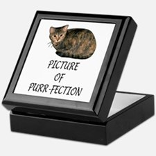 Picture of Purr-fection Keepsake Box