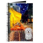 Cafe with Coton de Tulear Journal