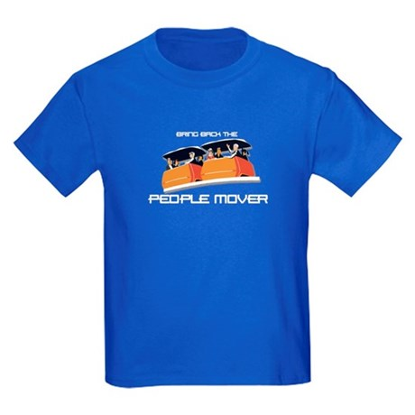 People Mover Kids Dark T-Shirt