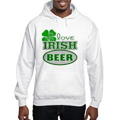 I Love Irish Beer Hoodie