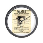 The Mad Hatter Wall Clock