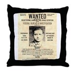 The Mad Hatter Throw Pillow