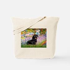 Garden / Dachshund Tote Bag