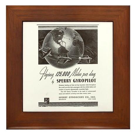 SPERRY GYRO ... Framed Tile