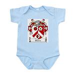White Family Crest Infant Creeper