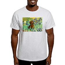 Irises & Dachshund T-Shirt