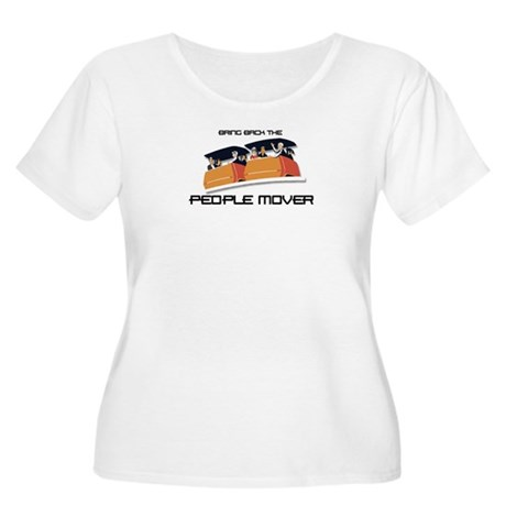 People Mover Women's Plus Size Scoop Neck T-Shirt